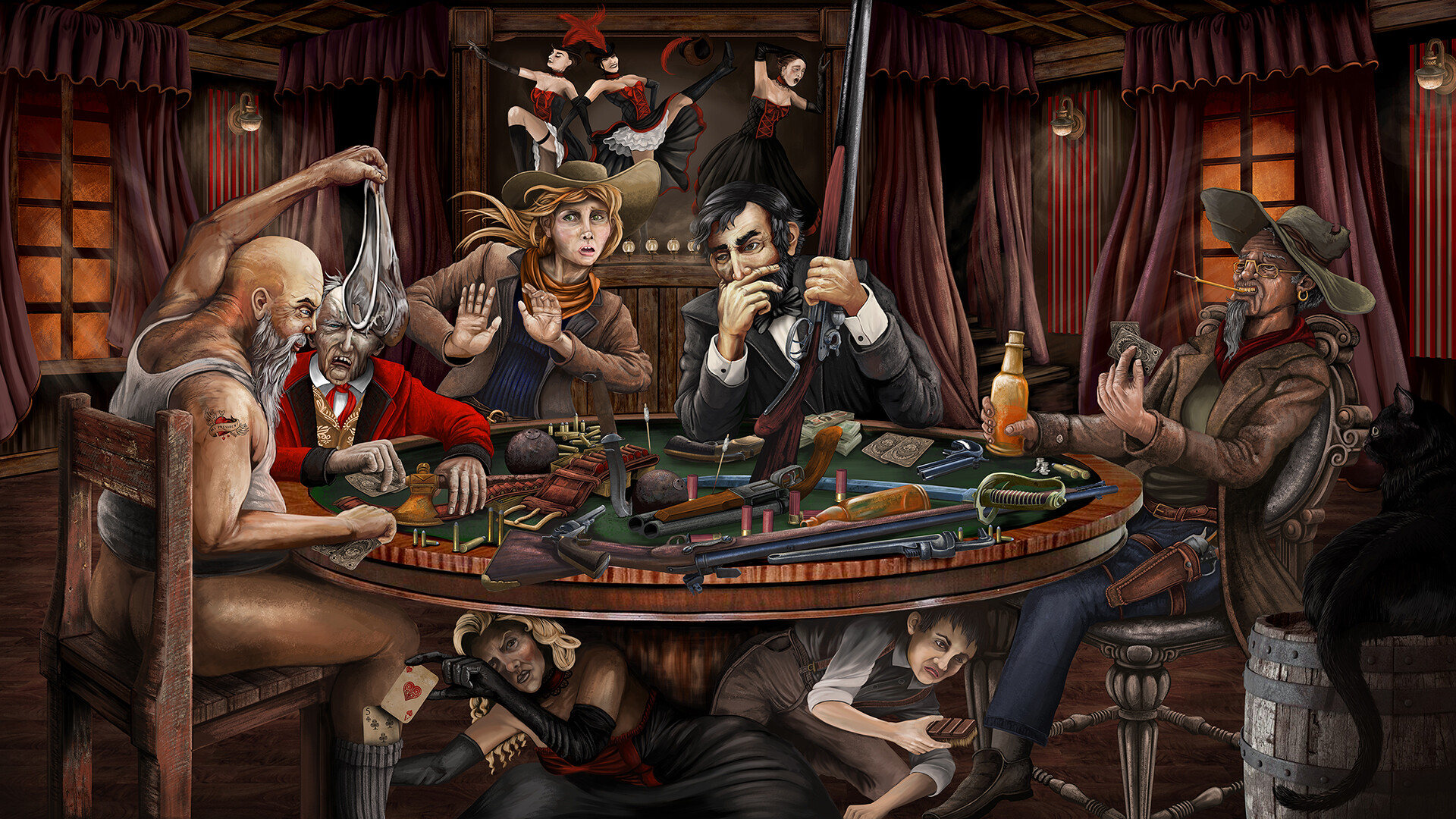 Old fashioned Gambling